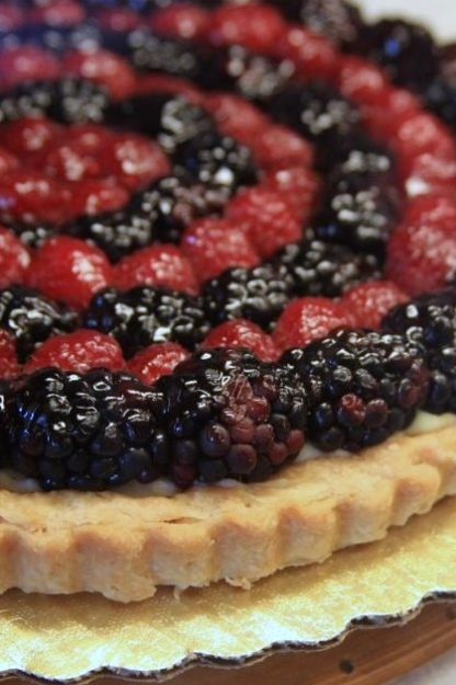 Vegan Almond-Berry Tarts