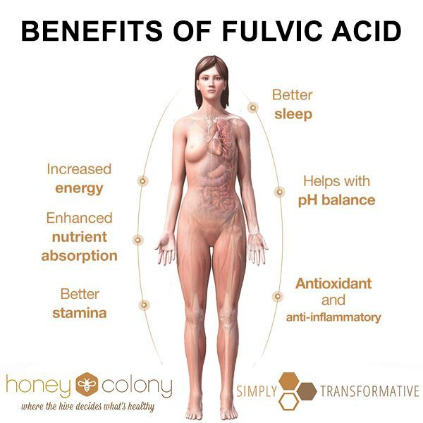 Benefits of fulvic acid