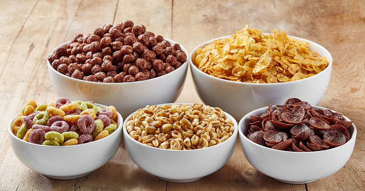 The following list presents the top 10 popular breakfast cereals most likely to contain Monsanto's gmo corn. Keep your family safe.