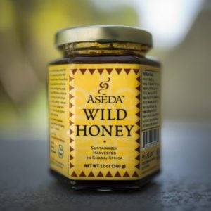 Aseda Wild Raw Honey From Africa (Large)