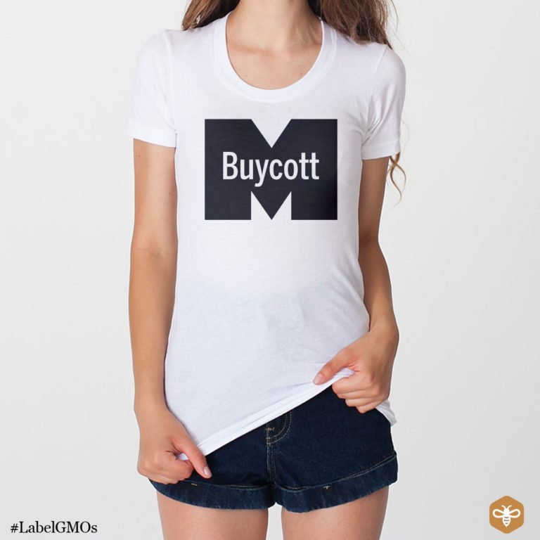 #BuycottApp Monsanto T-Shirt