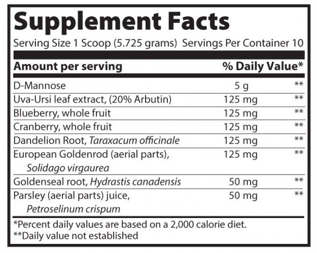 UTP_Supplement_Facts