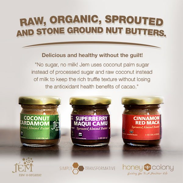 Jem Almond Butter Trio