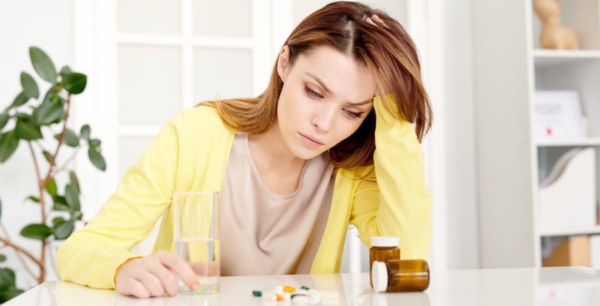 women depressed and considering alternative to antidepressants