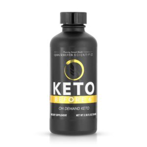 Quicksilver Keto Before 6™: Ketosis Activator